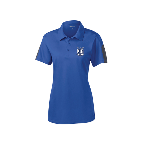 City High Middle Ladies Short Sleeve Polo (LST695)