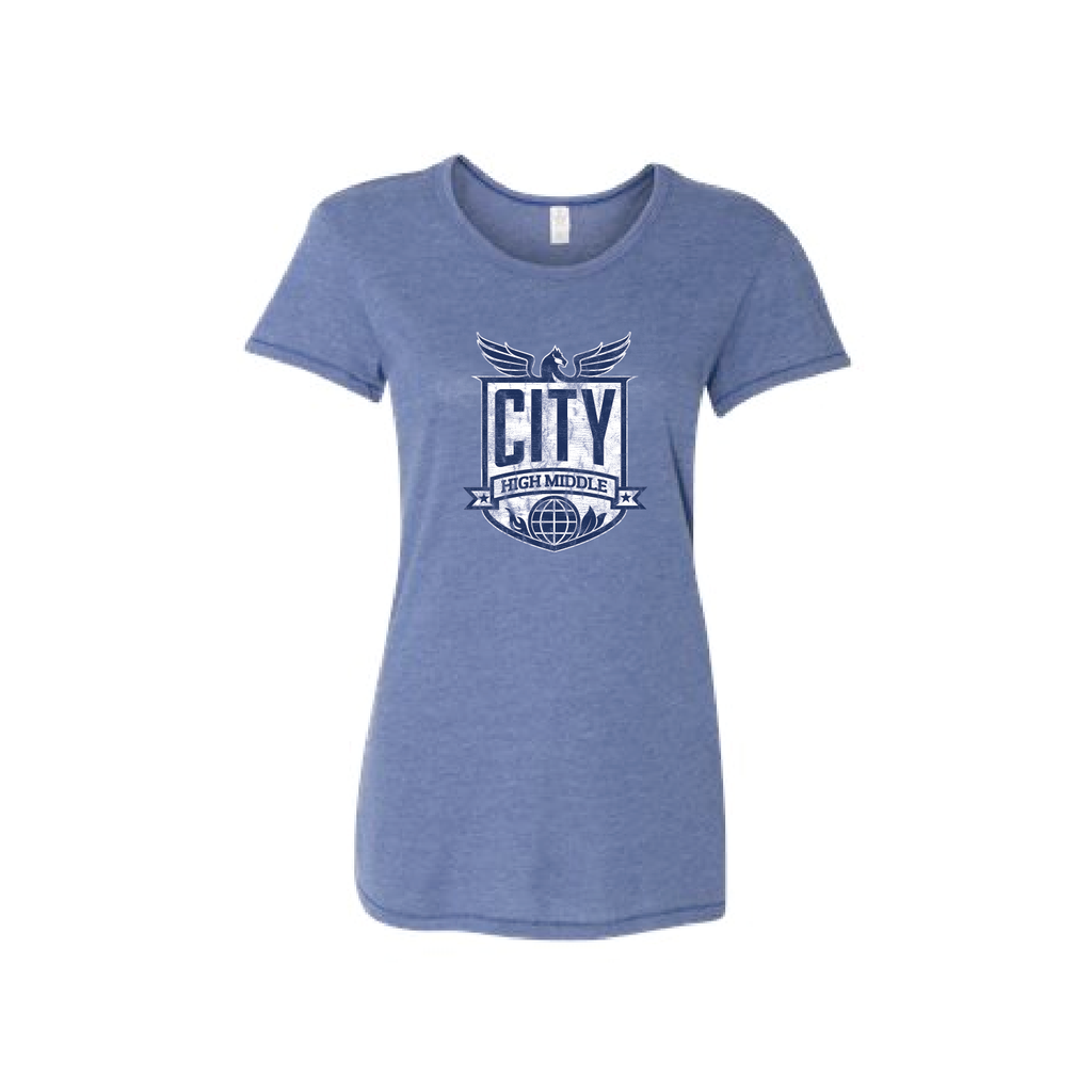 City High Middle Ladies Short Sleeve Tee (5052)