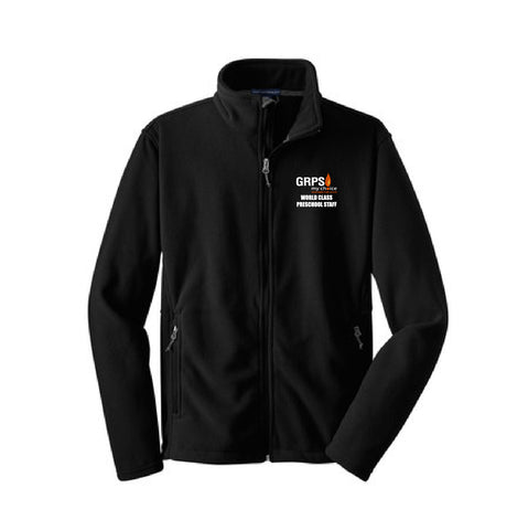 Staff Fleece Zip-up Jacket