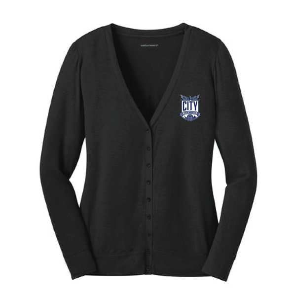 City High Ladies Cardigan (L545)