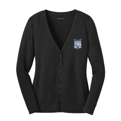 City High Staff Ladies Cardigan (L545)