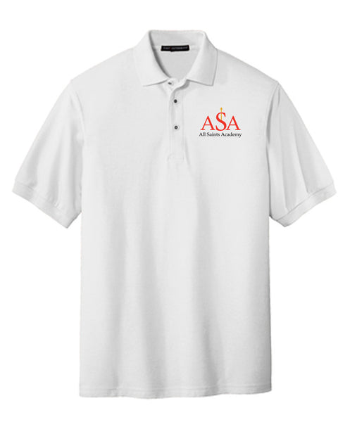 All Saints Academy YOUTH Port Authority Silk Touch™ Polo