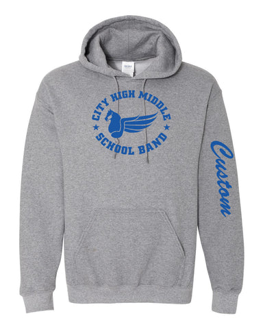 City High Middle Band Hoodie