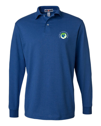 Center for Economicology Long Sleeve Polo