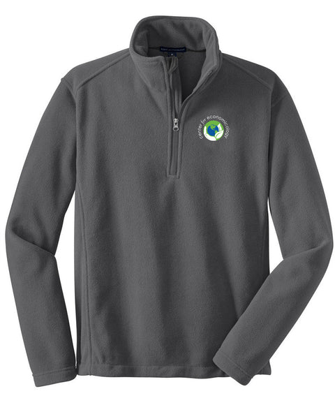 Center for Economicology 1/4 Zip Fleece