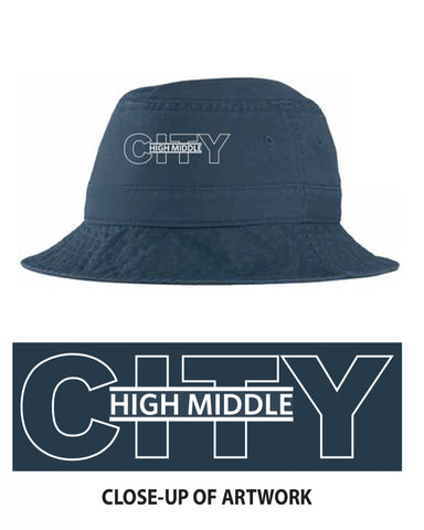 City High Middle Bucket Hat