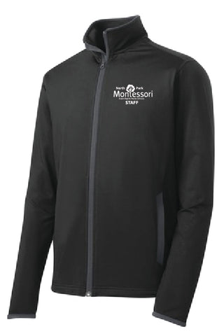 North Park Montessori Staff Full Zip Sportwick Jacket Montessori (ST853/LST853)