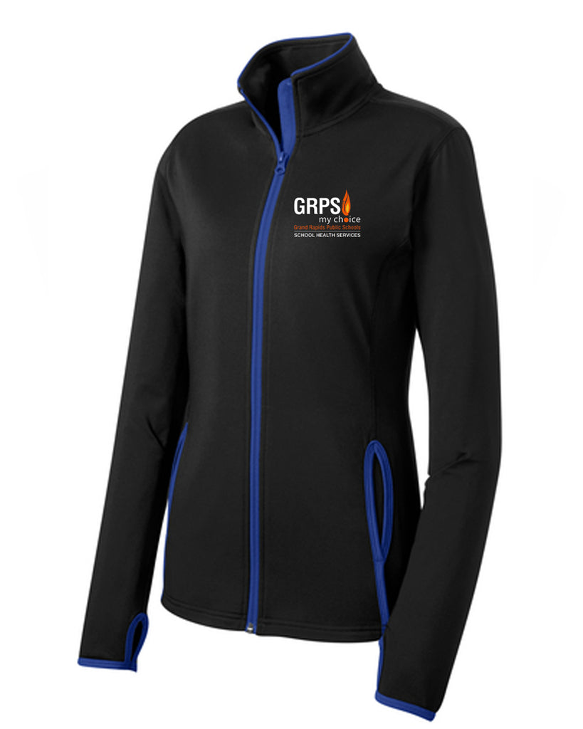 GRPS Health SportTek Ladies Sportwick Full Zip LST853