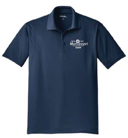 North Park Montessori Staff Short Sleeve Sportwick Polo (ST650/LST650)