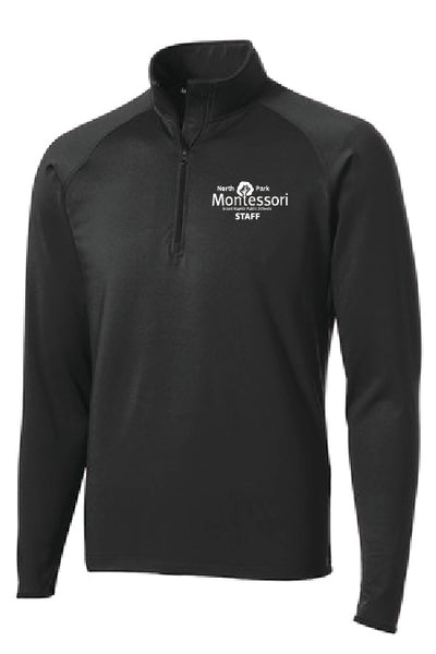 North Park Montessori Staff 1/4 Zip Sportwick Jacket (ST850/LST850)
