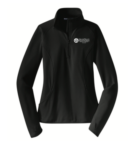 Sport-Tek® Ladies Sport-Wick® Stretch 1/2-Zip Pullover LST850