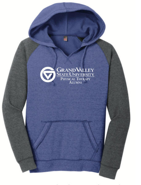 Women's Lightweight Fleece Raglan Hoodie DT296