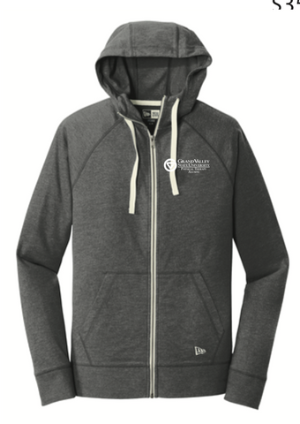 New Era® Sueded Cotton Blend Full-Zip Hoodie NEA122