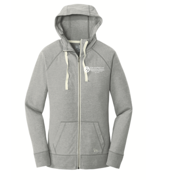 New Era® Ladies Sueded Cotton Blend Full-Zip Hoodie LNEA122