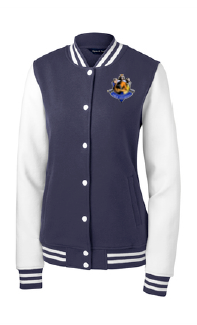 Uprep Ladies Fleece Letterman Jacket
