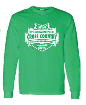 Middle School Cross Country Long Sleeve