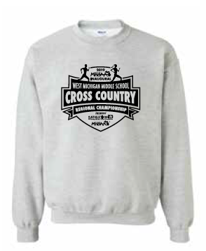 Middle School Cross Country Crew Sweatshirt