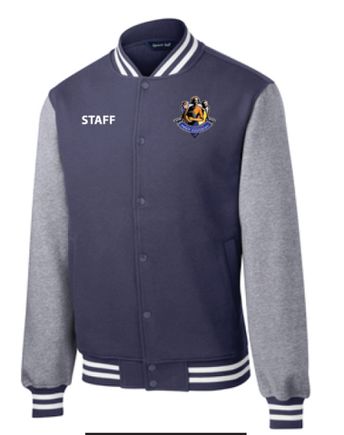 Uprep Staff Men's Fleece Letterman Jacket