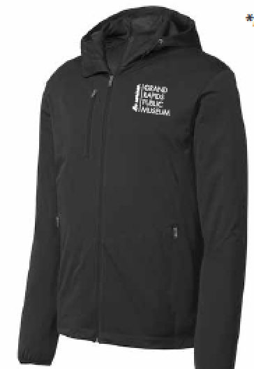 Museum School Active Hooded Soft Shell Jacket