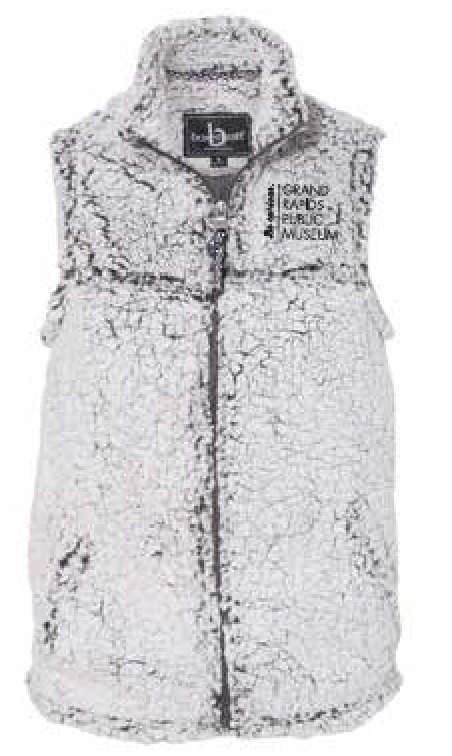 Museum School Women's Sherpa Full-Zip Vest