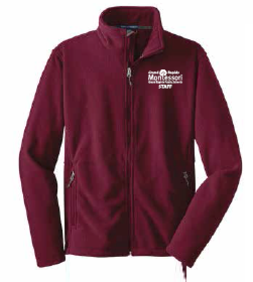 Montessori Staff Port Authority Full Zip Fleece F217