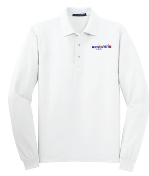 GRPS Arts Port Authority Silk Touch™ Long Sleeve Polo K500LS