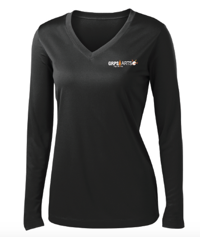 GRPS Arts Port Ladies LST353LS Sport-Tek® PosiCharge® Competitor™ Long Sleeve Tee