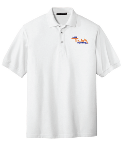GRPS Arts Script Port Authority Silk Touch™ Polo K500