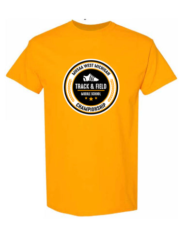 MHSSA Track and Field Championship Tee 2021 Tennessee Orange