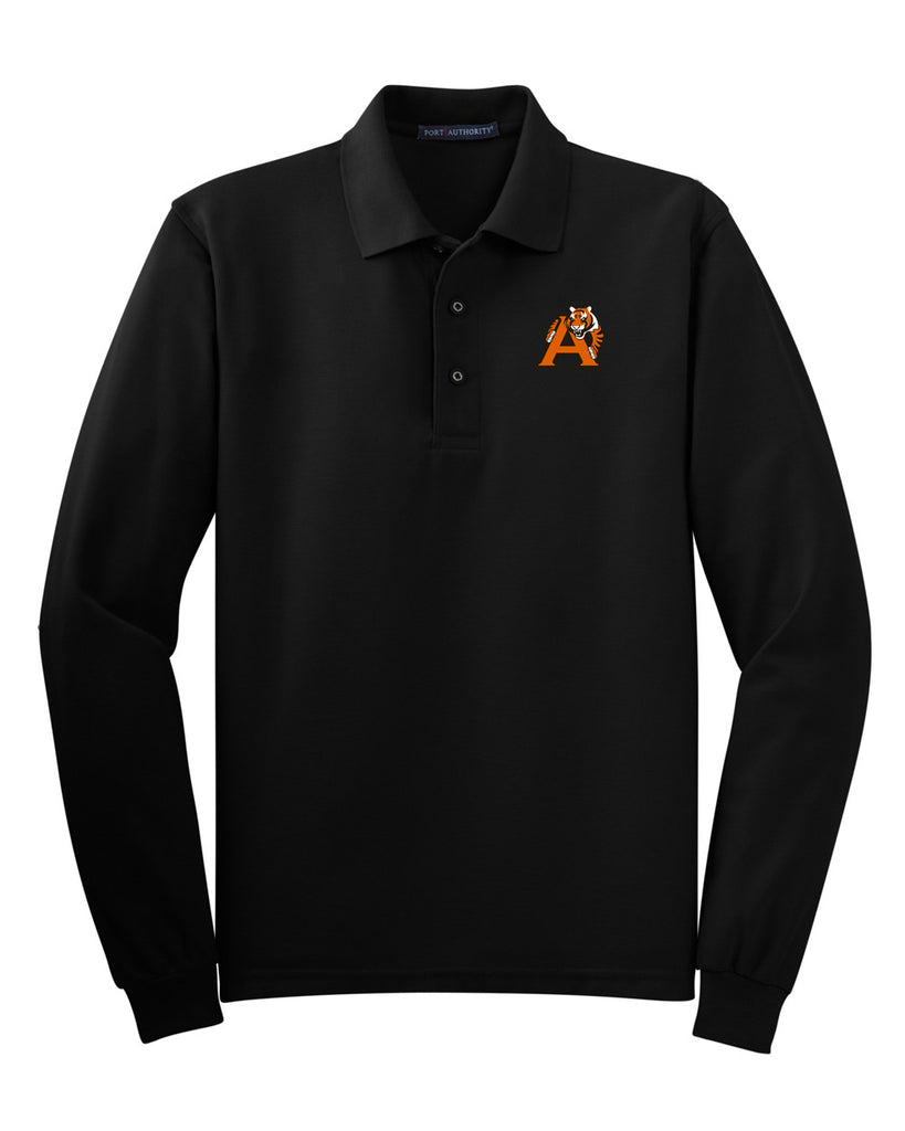 Alger Middle School Long Sleeve Polo