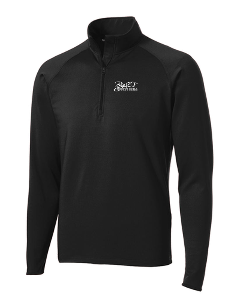 Men's Big Es Sport-Tek® Sport-Wick® Stretch 1/2-Zip Pullover