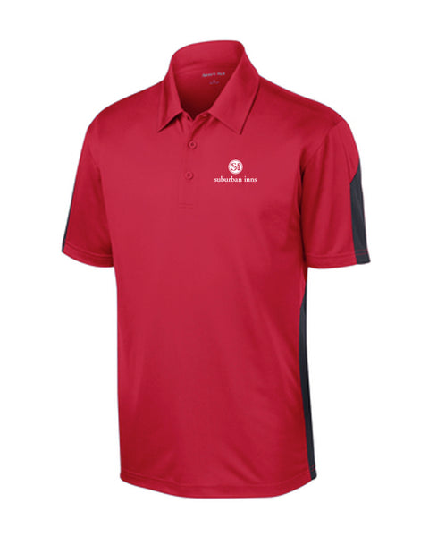 Men's Big E's Sport-Tek® PosiCharge® Active Textured Colorblock Polo