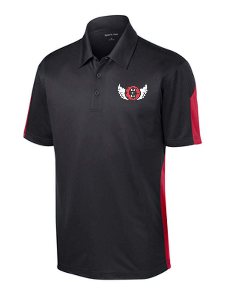 Ohio Tech Sport-Tek® PosiCharge® Active Textured Colorblock Polo