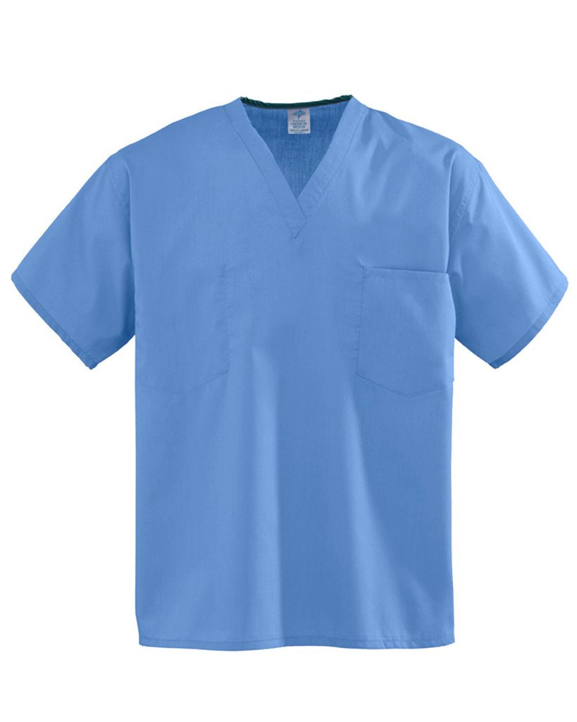 Staff Unisex Scrub Top School Logo