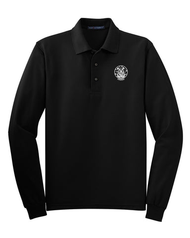 Dickinson Cultural Center Long Sleeve Polo