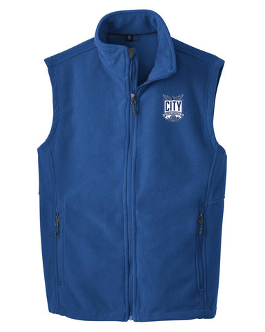 City High Middle Fleece Vest