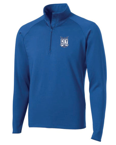 City High Middle Sport Wick 1/2 Zip
