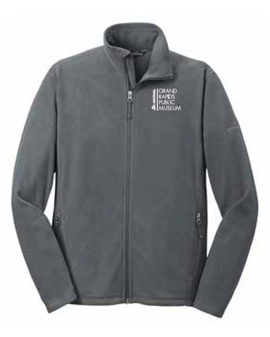 Museum Staff Eddie Bauer® Full-Zip Microfleece Jacket