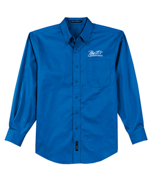 Women's Big E's Port Authority® Long Sleeve Easy Care Shirt