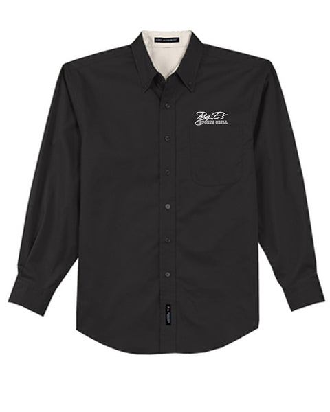 Men's Big E's Port Authority® Tall Long Sleeve Easy Care Shirt
