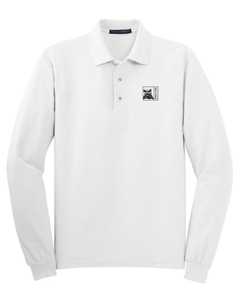 Gerald R Ford Long Sleeve Polo