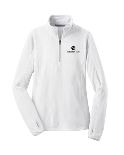 Women's Suburban Inns Port Authority® Microfleece 1/2-Zip Pullover