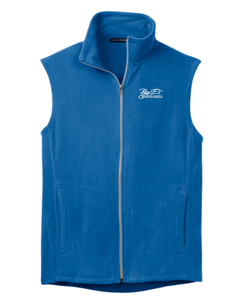 Men's Big E's Port Authority® Microfleece Vest