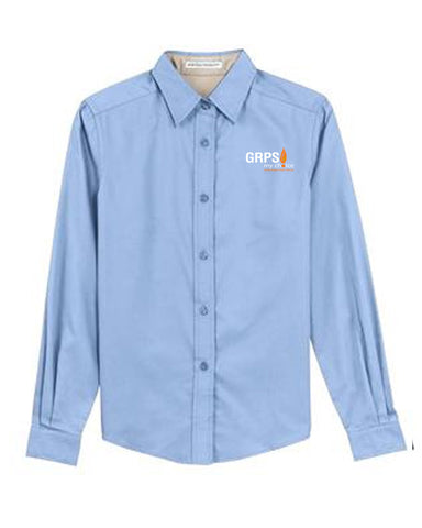 Staff Button Up GRPS Logo