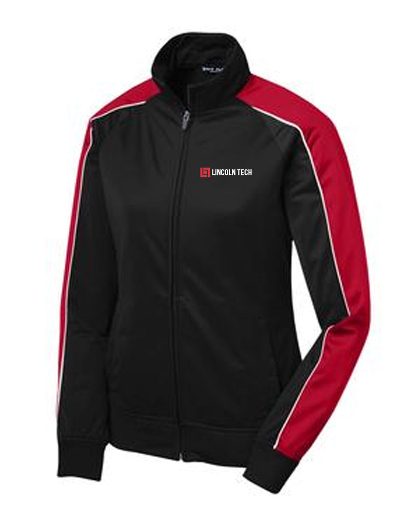 Lincoln Tech Ladies Piped Tricot Track Jacket