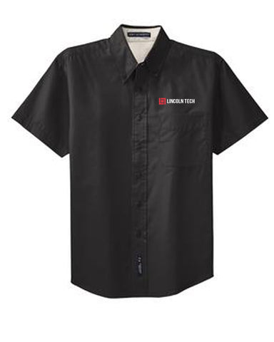 Lincoln Tech Short Sleeve Button Down