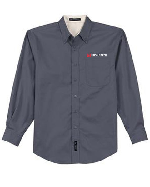 Lincoln Tech Button Down