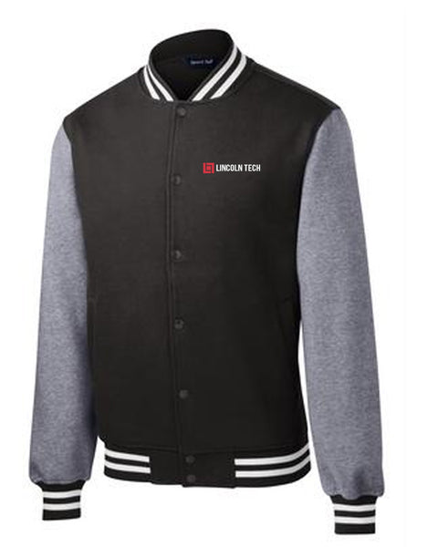 Lincoln Tech Fleece Letterman Jacket