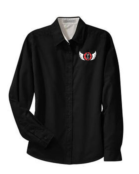 Ohio Tech Button Up