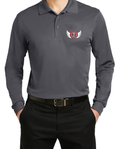 Men's Long Sleeve Polo (ST657)